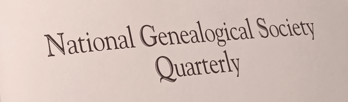 NGSQ cover masthead